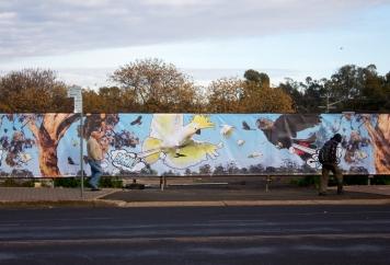 Jack Randell Farting Cockatoos Macquarie Street Dubbo
