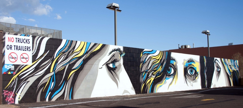 Poncho Army BOOMDubbo mural