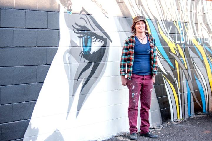 Poncho Army BOOMDubbo street art