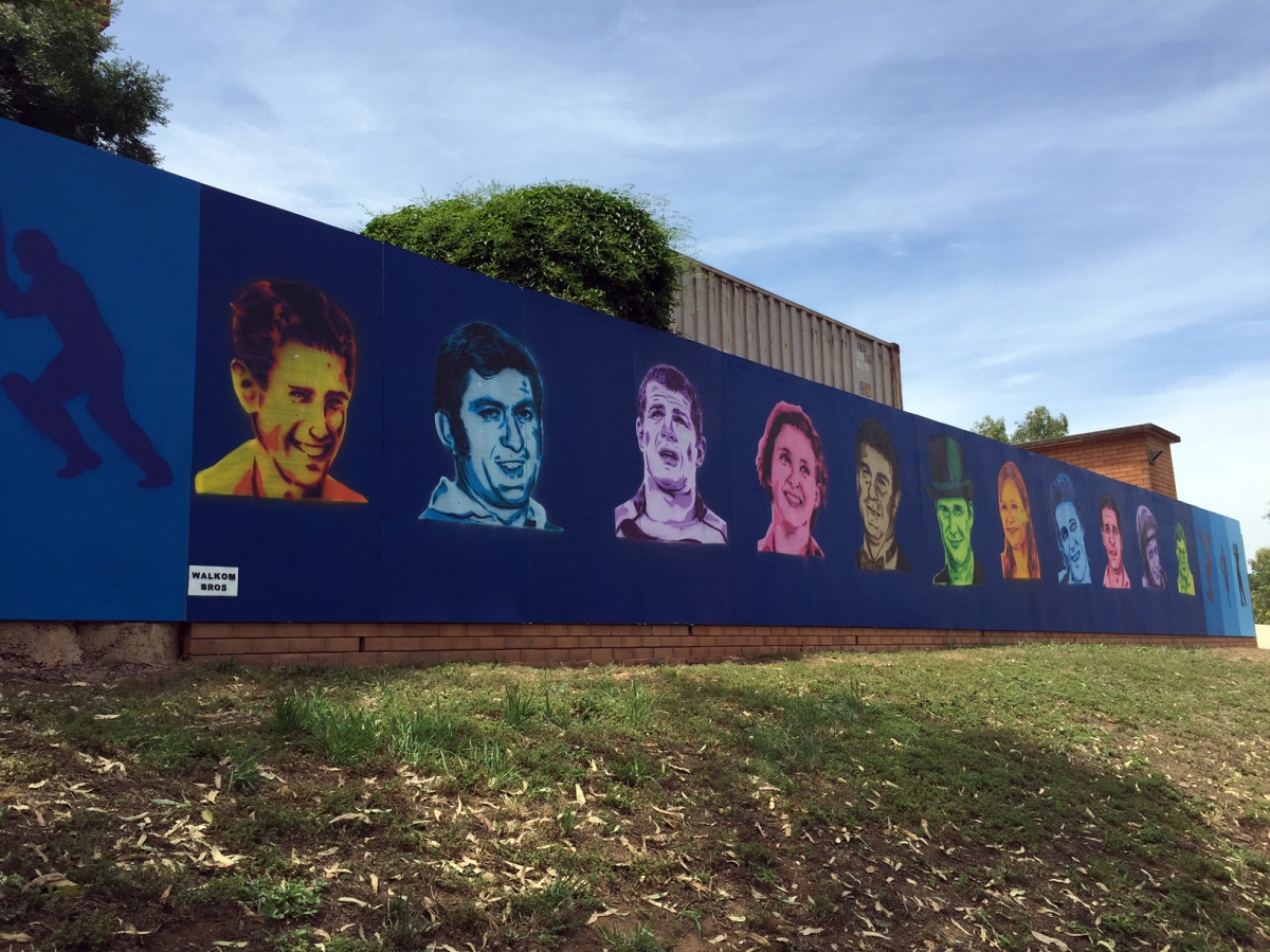 Wall of Sporting Greats (BlighStreet)
